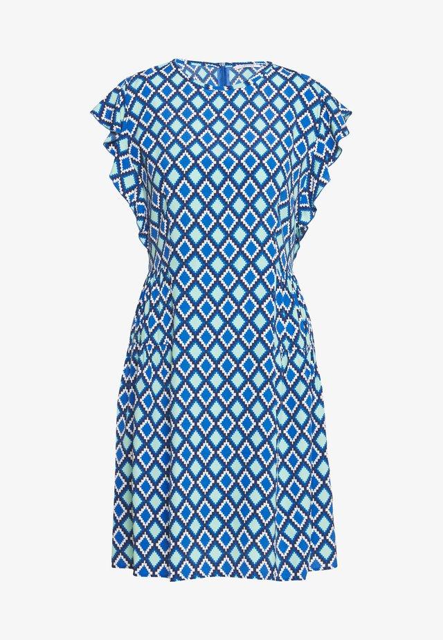 CANTONE - Korte jurk - cornflower blue
