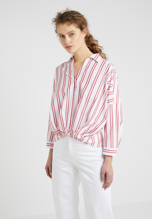 CABLO - Button-down blouse - rot