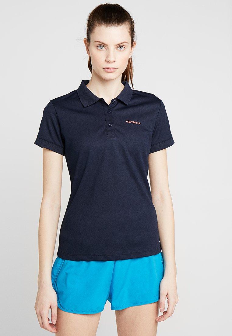 Icepeak - KASSIDY - Poloshirt - marinenblau