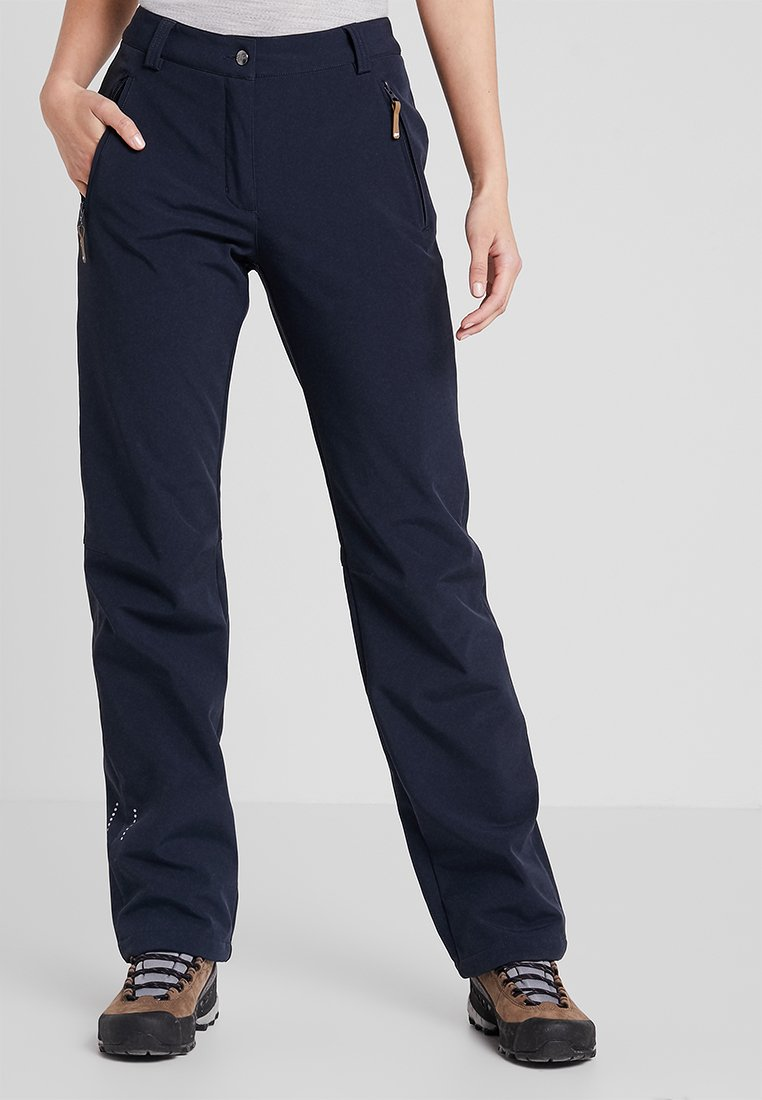 Icepeak - SAVITA - Outdoor trousers - dark blue
