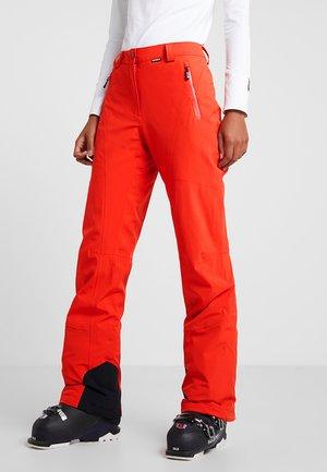 NOELIA - Pantaloni da neve - coral red