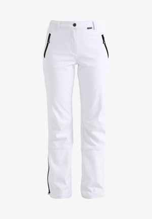 RIKSU - Pantaloni outdoor - white