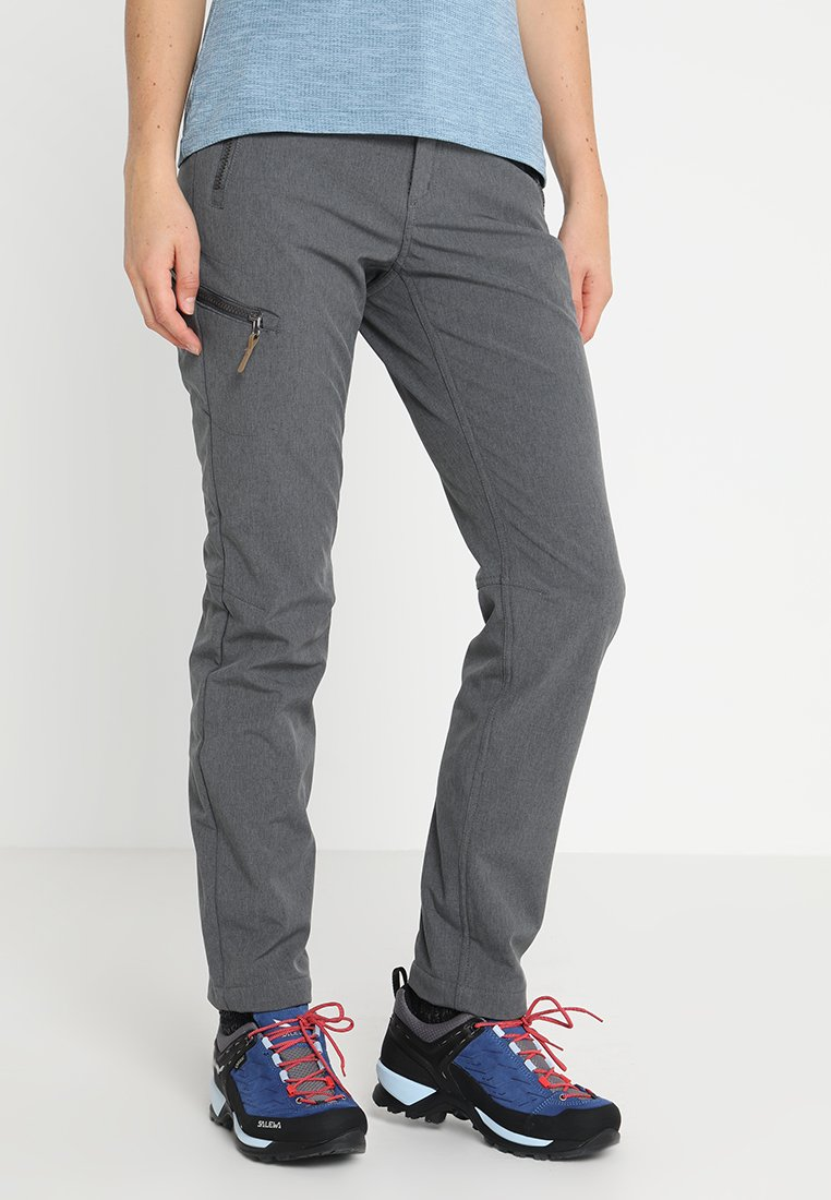 Icepeak - TEIJA - Trousers - lead grey