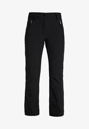 OUTI - Spodnie narciarskie - black