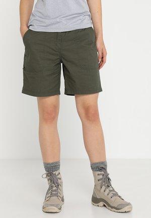 LILJA - Shorts - dunkelolivgrün