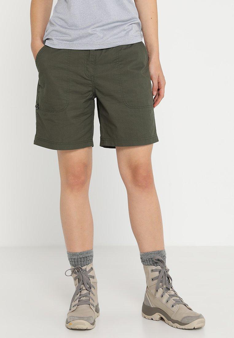 Icepeak - LILJA - Shorts - dunkelolivgrün