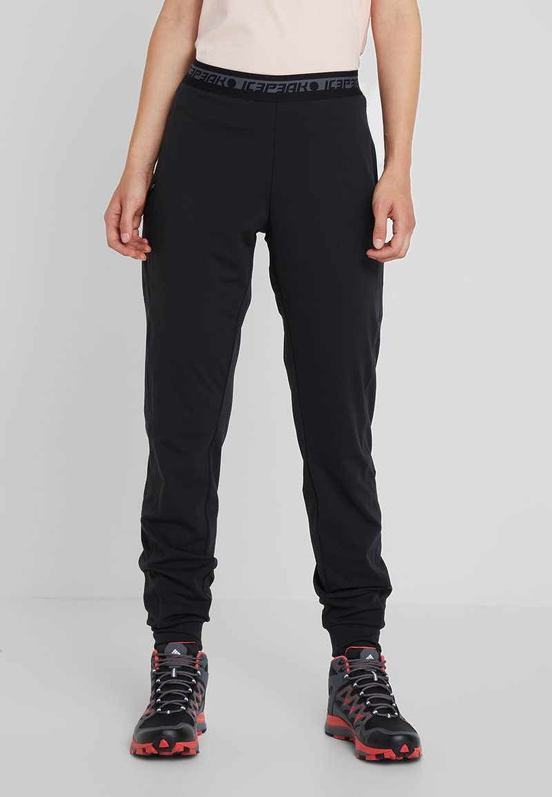 Icepeak - BRYAN - Tracksuit bottoms - black