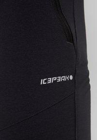 Icepeak - BLENHEIM - Spodnie materiałowe - anthracite - 6