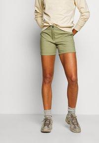 Icepeak - CAROLINE - Sports shorts - antique green - 0