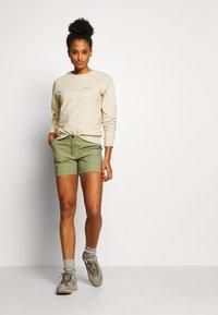 Icepeak - CAROLINE - Sports shorts - antique green - 1