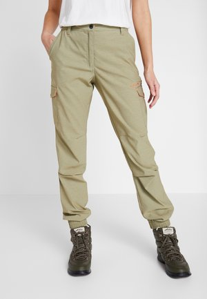 CAROGA - Outdoor trousers - antique green