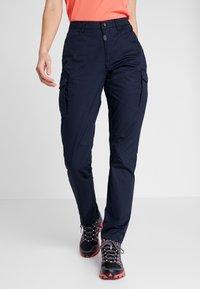 Icepeak - AUGUSTA - Cargo trousers - dark blue - 0