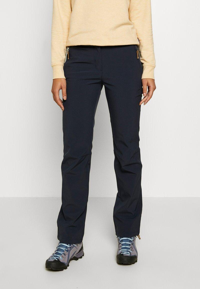 Icepeak - TAVITA - Outdoor trousers - dark blue