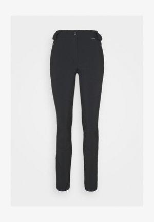 ICEPEAK DORAL - Spodnie materiałowe - black