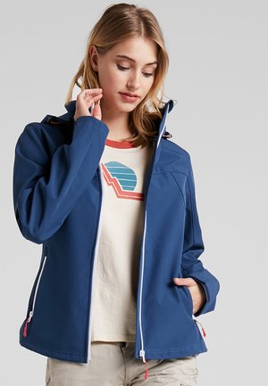 LUCY - Soft shell jacket - blue