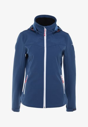 LUCY - Softshelljacke - blue