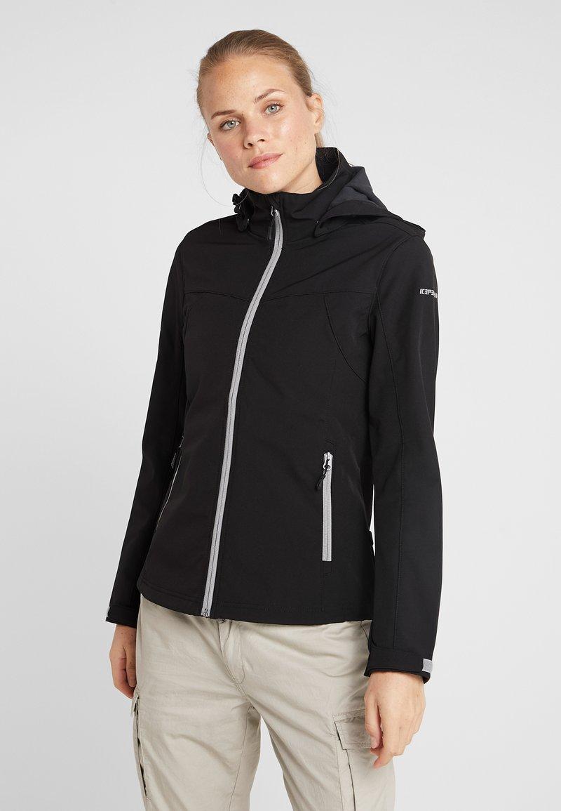 Icepeak - LUCY - Soft shell jacket - black