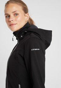 Icepeak - LUCY - Soft shell jacket - black - 7