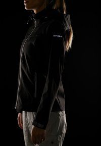 Icepeak - LUCY - Soft shell jacket - black - 5