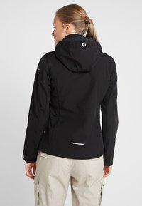 Icepeak - LUCY - Soft shell jacket - black - 2