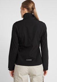 Icepeak - LUCY - Soft shell jacket - black - 3