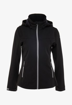 LUCY - Kurtka Softshell - black