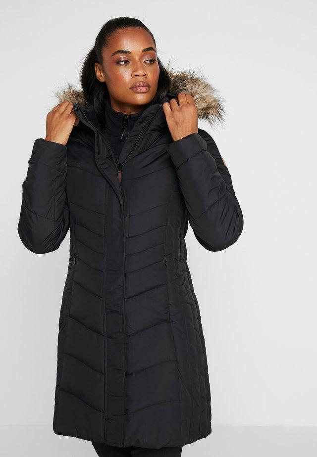PAIVA - Cappotto invernale - black