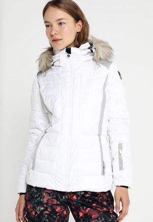 CINDY - Lyžařská bunda - optic white