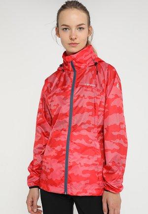 ANNE - Hardshell jacket - klassisch rot