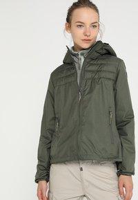 Icepeak - LENA - Outdoor jakke - dunkelolivgrün - 0
