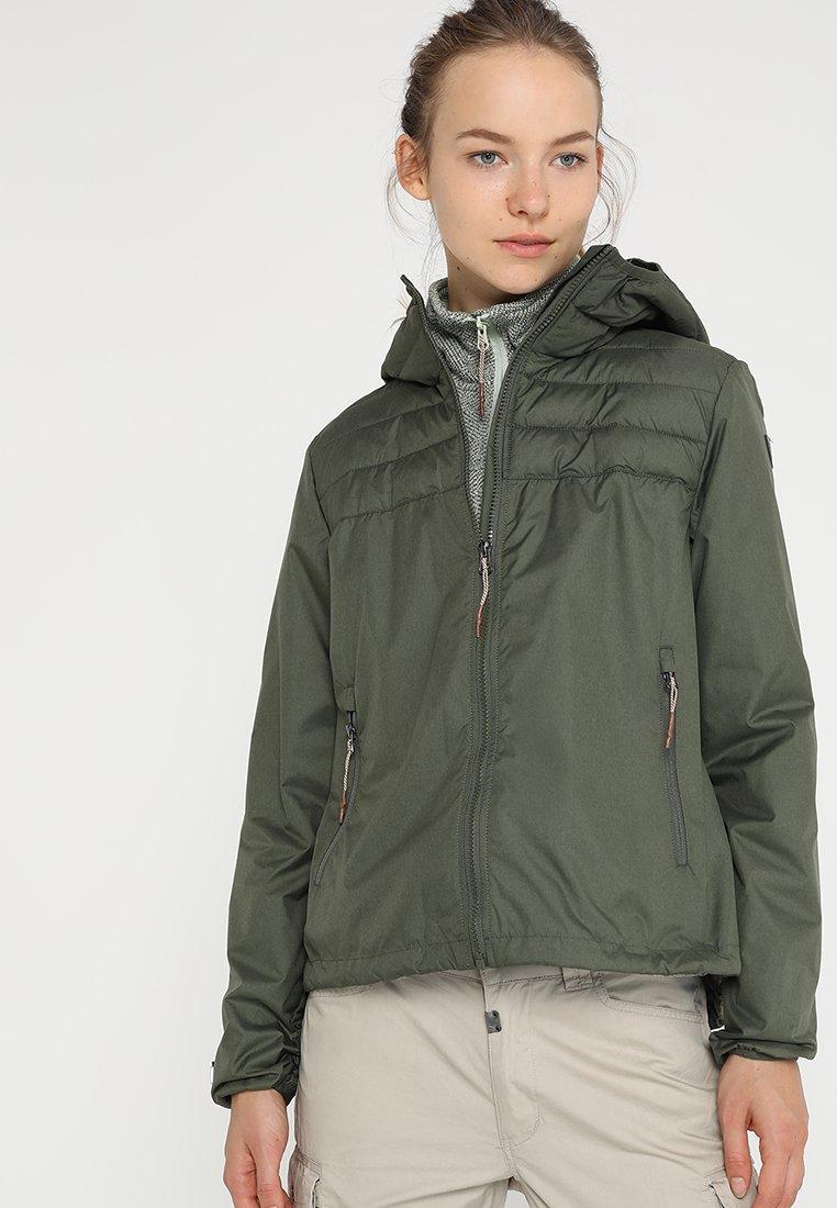 Icepeak - LENA - Outdoor jakke - dunkelolivgrün