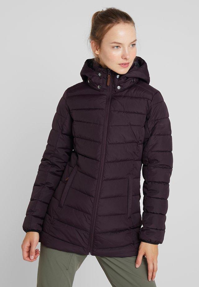PIDALL - Zimní kabát - bordeaux