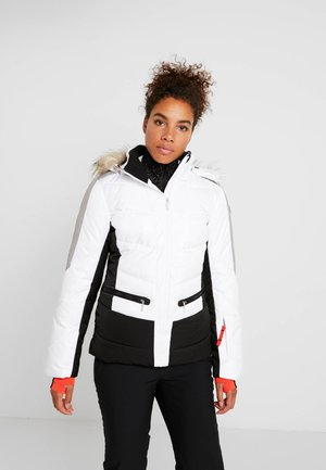 ELECTRA - Snowboardjacka - optic white