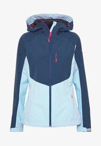 Icepeak - BARBY - Soft shell jacket - baby blue - 4