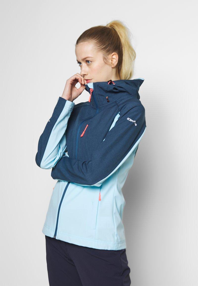Icepeak - BARBY - Soft shell jacket - baby blue