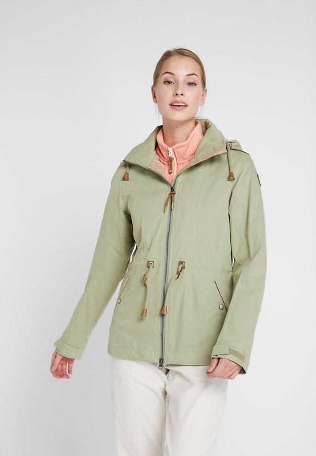ALTAMURA - Vodotěsná bunda - antique green
