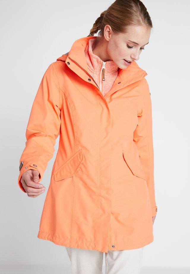 ANTOINE - Vodotěsná bunda - abricot