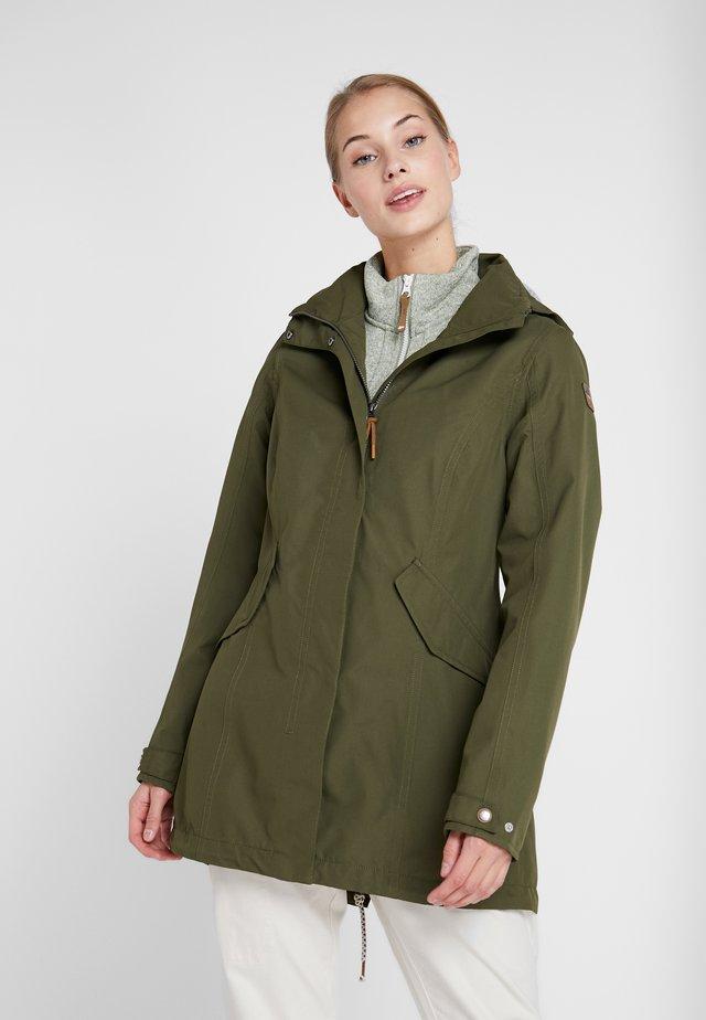 ANTOINE - Waterproof jacket - dark olive