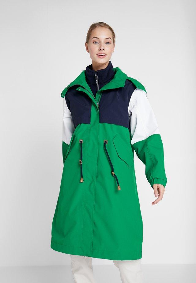 ALGOMA - Vodotěsná bunda - green
