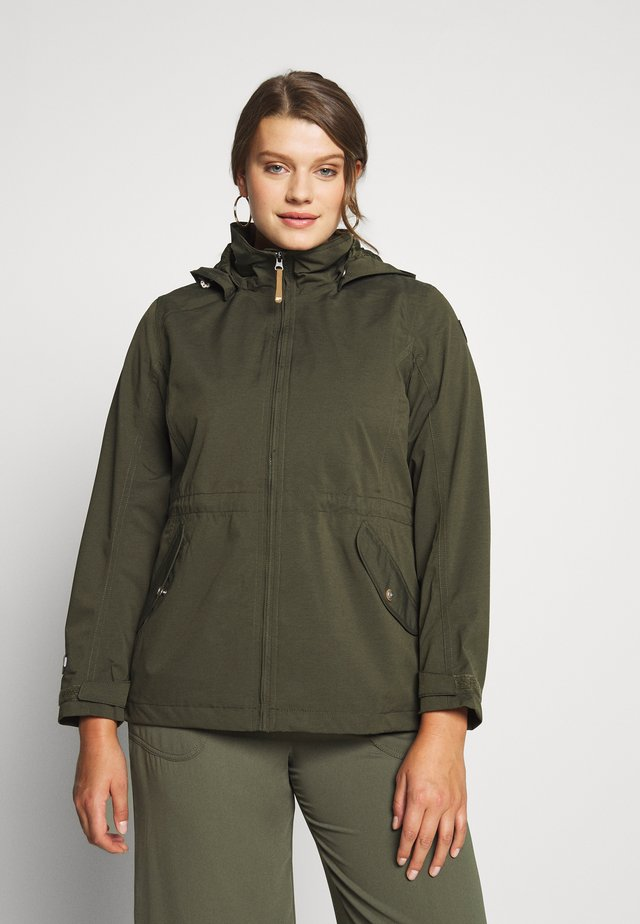 PEWAMO - Outdoorjas - dark olive