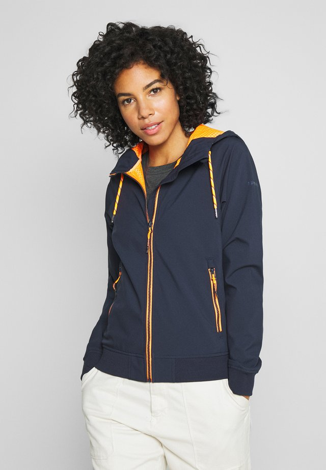 CARMEL - Veste softshell - dark blue