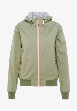 CARMEL - Soft shell jacket - antique green