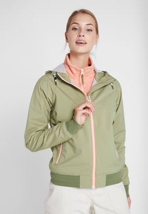 CARMEL - Soft shell jacket - antique green
