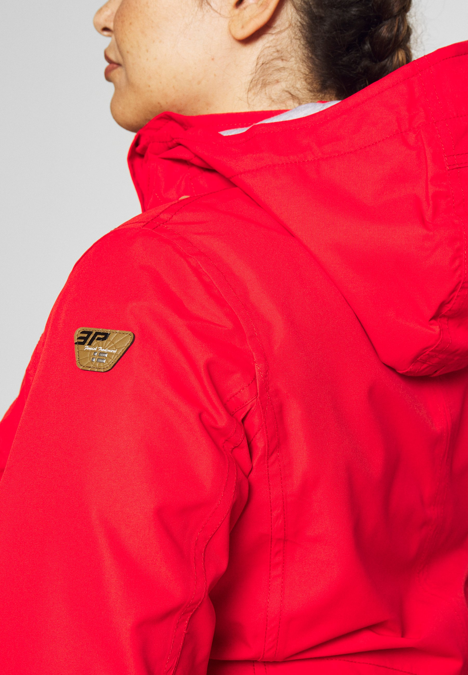Icepeak PHARSALIA - Impermeabile - classic red