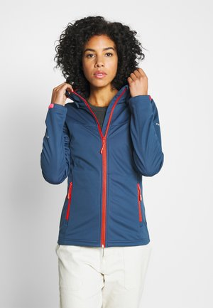 BOISE - Soft shell jacket - blue