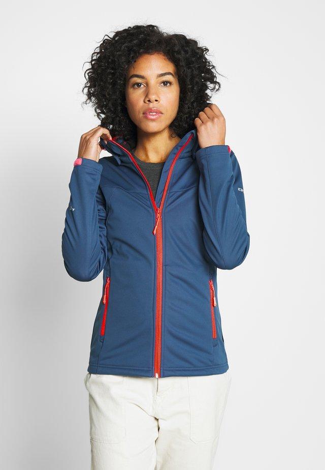 BOISE - Soft shell jacket - blue