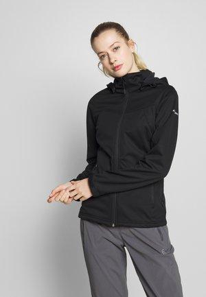 BOISE - Soft shell jacket - black