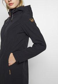 Icepeak - PELION - Soft shell jacket - black melange - 5