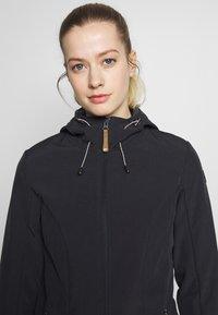 Icepeak - PELION - Soft shell jacket - black melange - 3