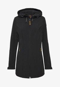 Icepeak - PELION - Soft shell jacket - black melange - 4
